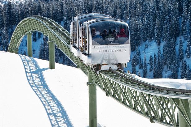 De mooiste skiliften- ©Tschuggen Hotel Group AG