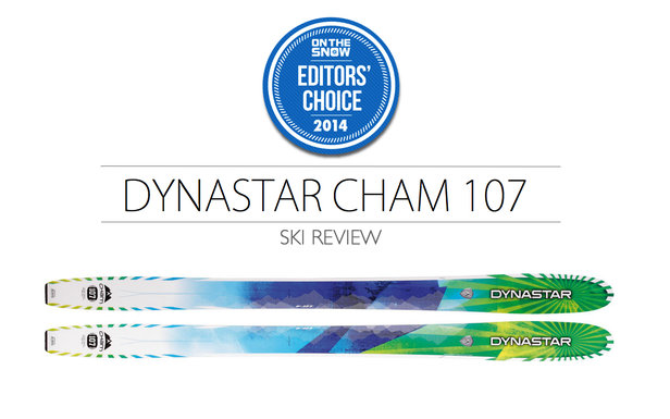 2014 Men's Powder Editors' Choice Ski: Dynastar Cham 107