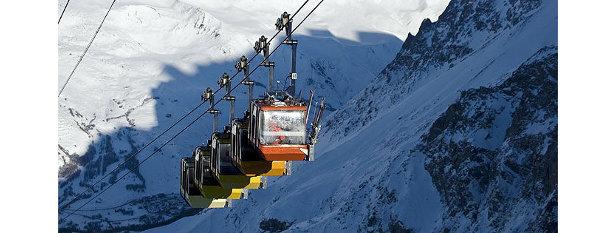De mooiste skiliften: de gondellift in het Franse La Grave brengt je naar een ongelofelijke uitdaging.  - © La Grave