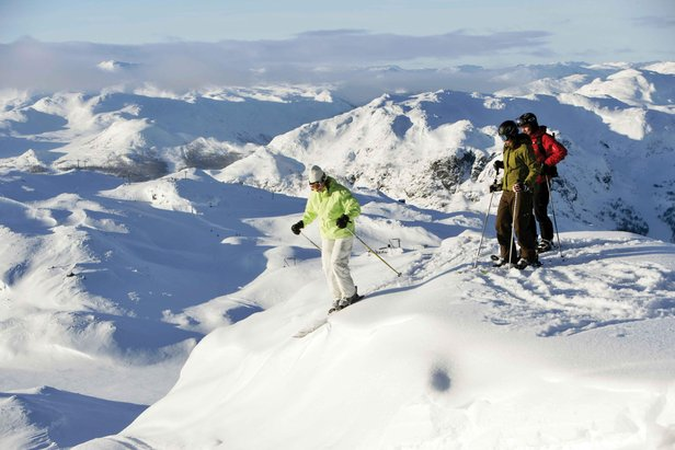 Hemsedal offers snow-sure skiing November to May  - © Hemsedal