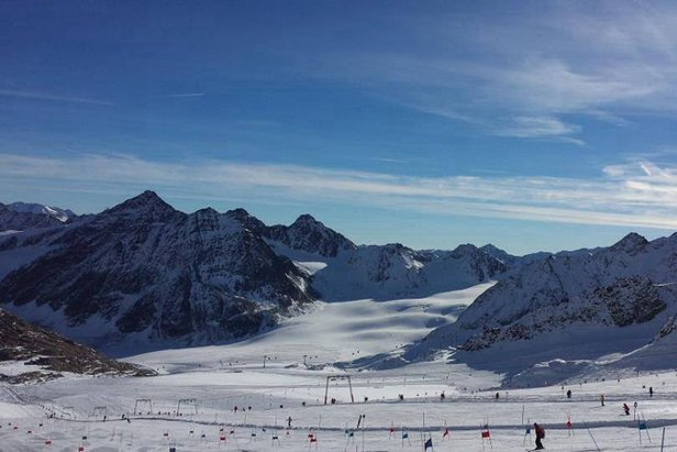 Pitztal glacier Nov. 2, 2013
