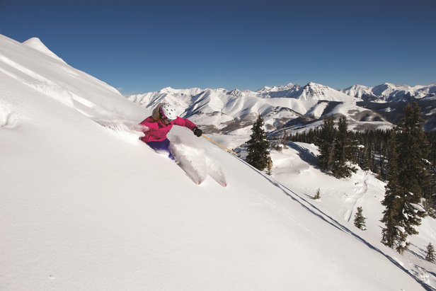 Powder days are the best days at Crested Butte Mountain Resort.  - © Crested Butte Mountain Resort
