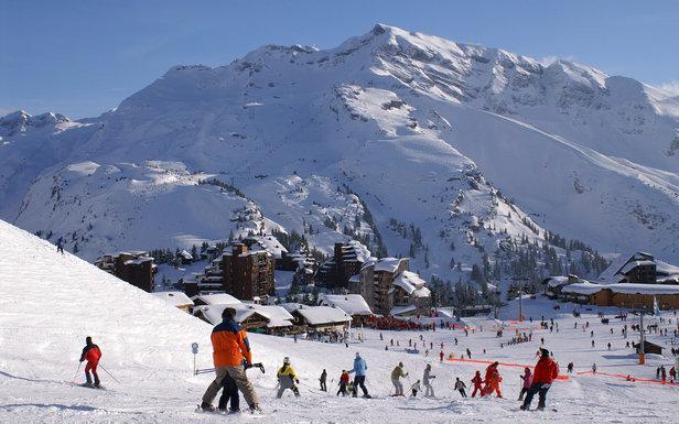 A Avoriaz, il y a toujours une piste de ski qui vous ramène au pied de votre résidence/hôtel