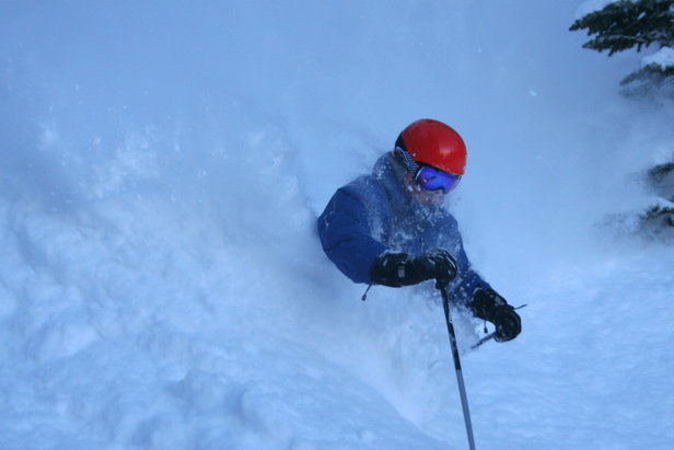 Red Lodge Montana spring powder photo courtesy of Red Lodge Mountain Resort