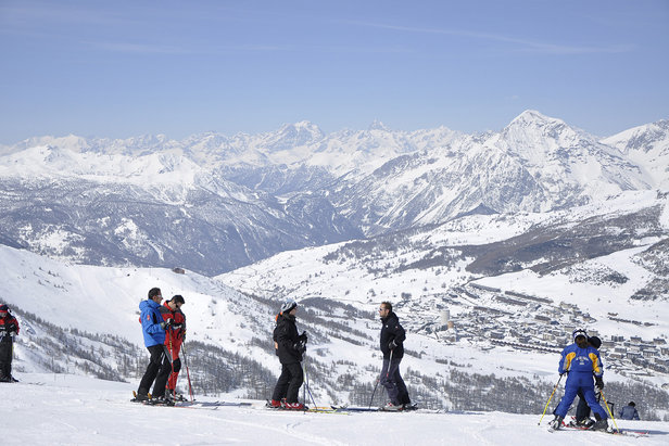 Skiing the Milky Way: A resort for everyone ©Sestriere Vialattea