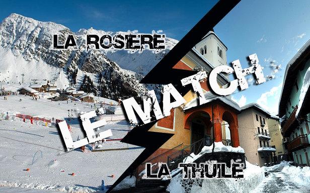 Eléments de comparaison entre les stations de la Rosière et de la Thuile,