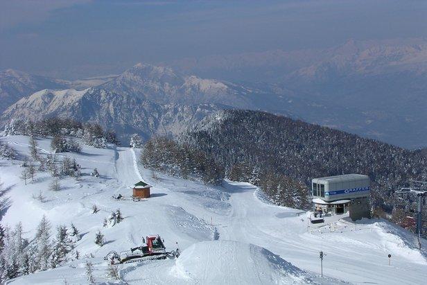 Panarotta 2002 - Neve