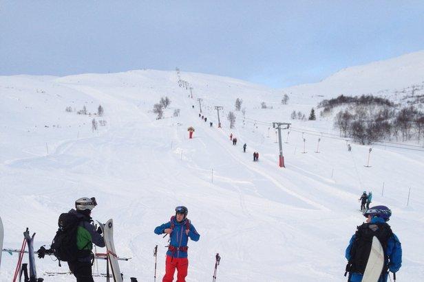 Vintereventyret er i gang på Harpefossen Skisenter!- ©Harpefossen Skisenter