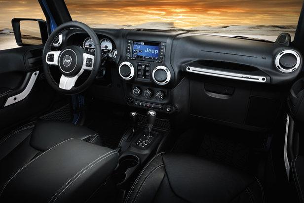 Guida su neve? Ecco Jeep Wrangler Polar - ©Jeep