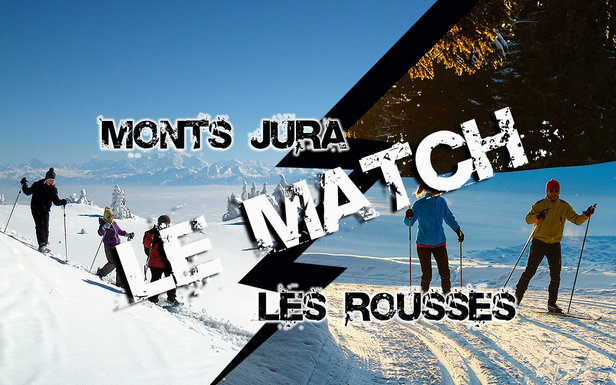 Match comparatif entre les stations de ski de Monts Jura et des Rousses