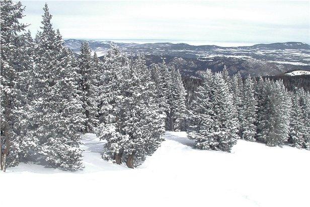 Sneeuwrijkste gebied week 4