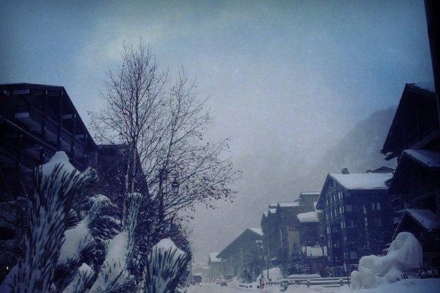 Val d'Isère (29 januari 2014) verwacht de komende vier dagen 29 cm verse sneeuw