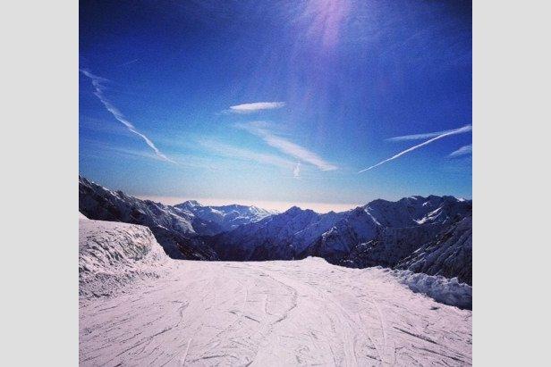 Alagna Valsesia - Neve di Marzo 2014