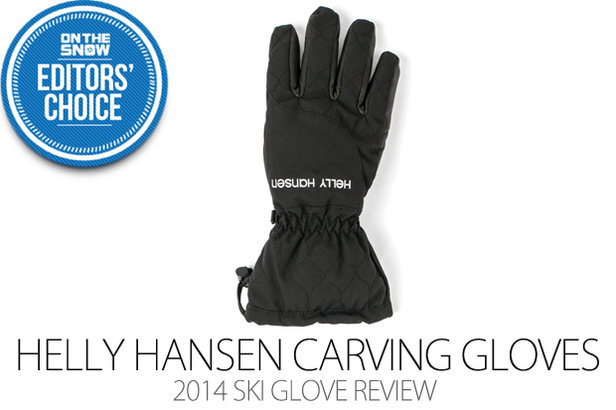 2014 Women's Ski Glove Editors' Choice: Helly Hansen Women's Carving Gloves- ©Julia Vandenoever