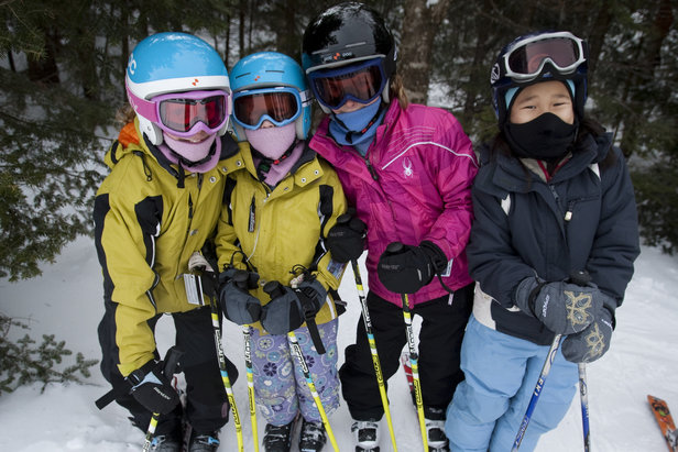 Kid-friendly Okemo makes a great place for the whole family to learn a new sport in the new year.   - © Okemo Mountain Resort