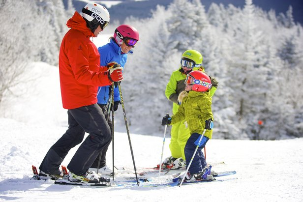 Infographic: Top 3 Northeast Resorts for Families ©Okemo Mountain Resort