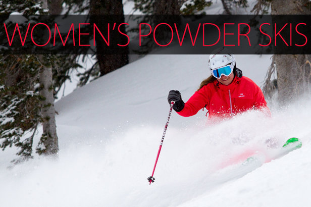 Women's 2015 Powder Skis.