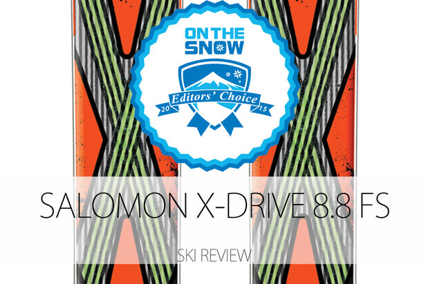 Salomon X-Drive 8.8 FS, a 2015 Editors' Choice Men's All-Mountain Front Ski.