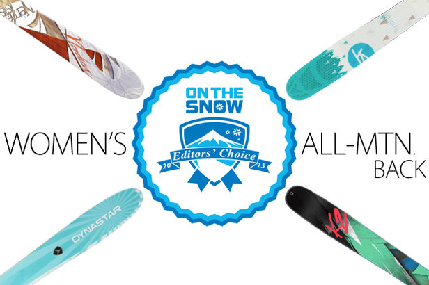 4 Winning Women's 2015 All-Mountain Back Skis