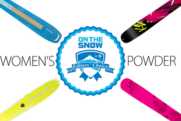 4 Women's Powder Ski Standouts for 2015