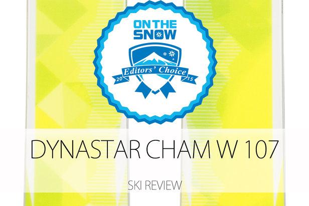 Dynastar Cham W 107, a 2015 Editors' Choice Women's Powder Ski.