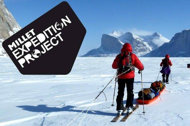 """Grâce à son programme """"Millet Expedition Project"""", Millet accompagne les aventuriers en soif de nouveaux horizons..."""