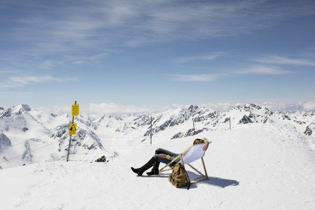 Jaro na ledovci Pitztal  - © Tirol Werbung
