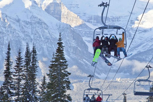 Canada Launches Ski Season in Banff- ©Chris Moseley