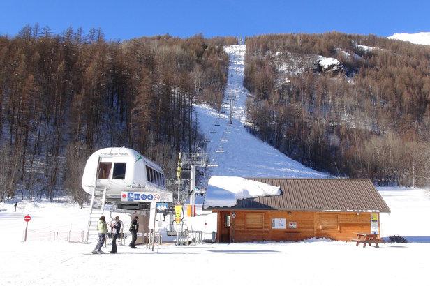 Pelvoux vallouise pr sentation de pelvoux vallouise la for Piste de ski interieur