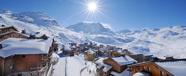 Les joies du ski de printemps à Val Thorens