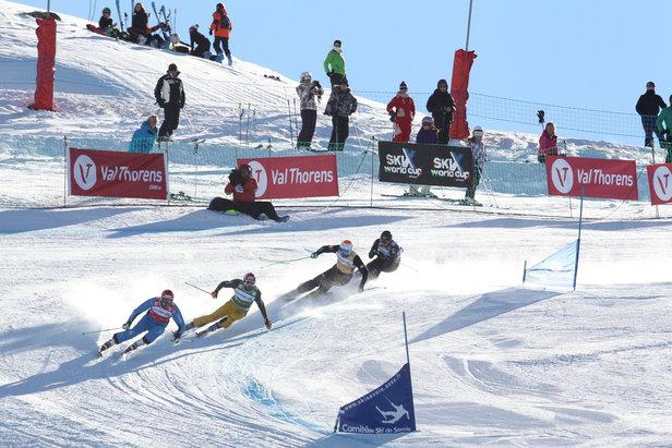 Skicross à Val Thorens