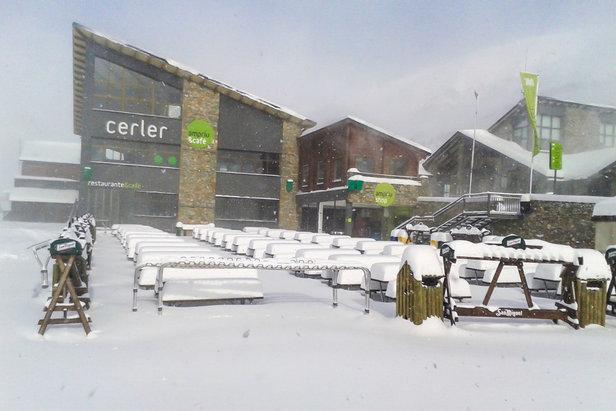 Tout est prêt du côté de Cerler où les premiers skieurs de la saison seront accueillis dès samedi (13 déc.)