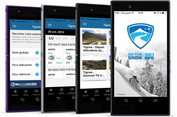 Les meilleures applications pour son séjour au ski