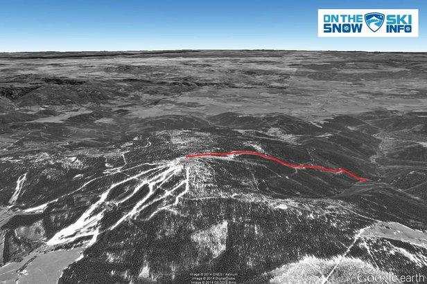 Klínovec: ósma najdłuższa czeska trasa narciarska  - © OnTheSnow