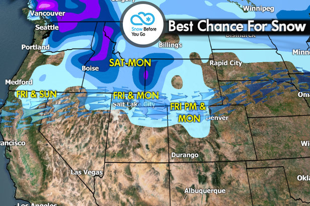 Snow Before You Go: One-Two Powder Punch in the Ski Forecast