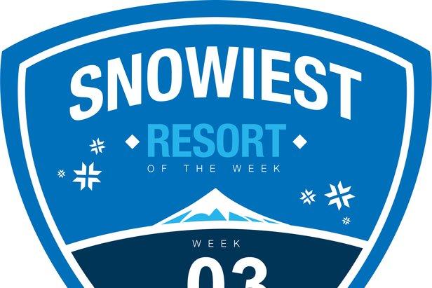 Snowiest Resort Of The Week - Kalenderwoche 03
