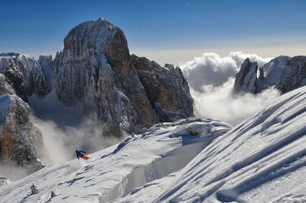 Torna il contest fotografico ad alto tasso di neve: Arc'teryx King of Dolomites- ©I Krumiri Team - 2nd Place King of Dolomites 2014, WANNABES Category