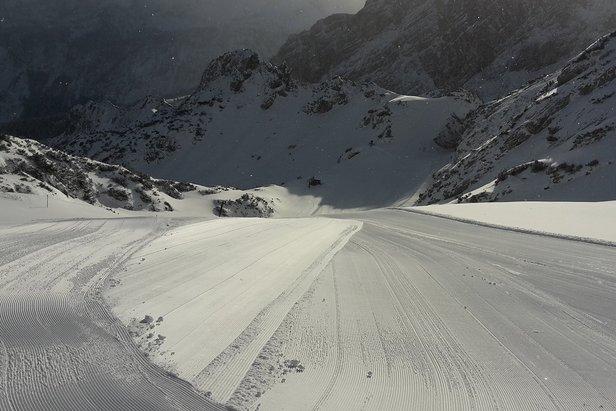Sneeuwrijkste gebied week 6 ©Facebook Zugspitze