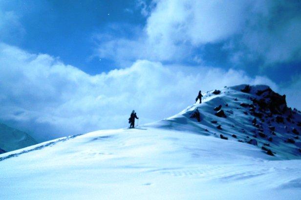 Rifflsee to doskonałe miejsce dla miłośników skitourów  - © Skiinfo.pl/Tomasz Wojciechowski