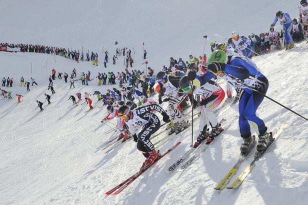 Skirennen 2017 für jedermann: Dabei sein ist alles!- ©TVB St. Anton am Arlberg/Fotograf: Josef Mallaun
