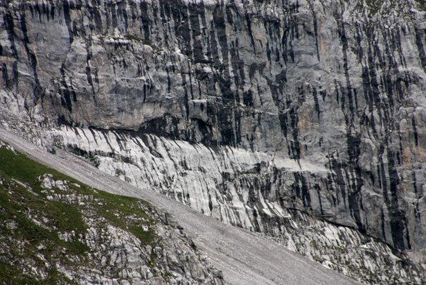 Blick auf den Einstieg des Klettersteigs Sulzfluh