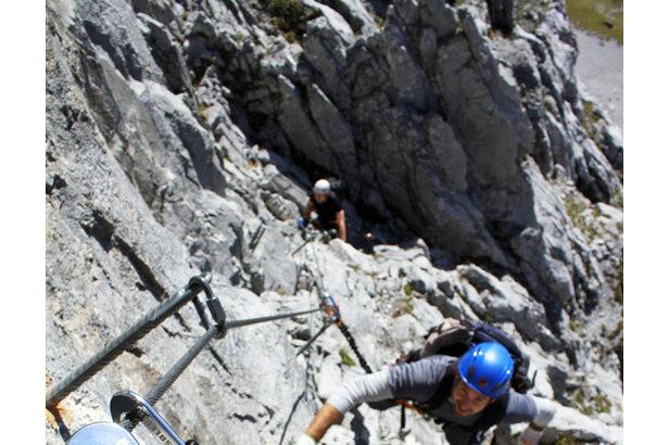 Klettersteig Zell Am See : Reise: die neun schönsten klettersteige in Österreich deutschland