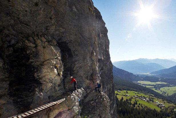 Klettersteig Ostschweiz : Klettersteige klettersteig allmenalp km bergwelten