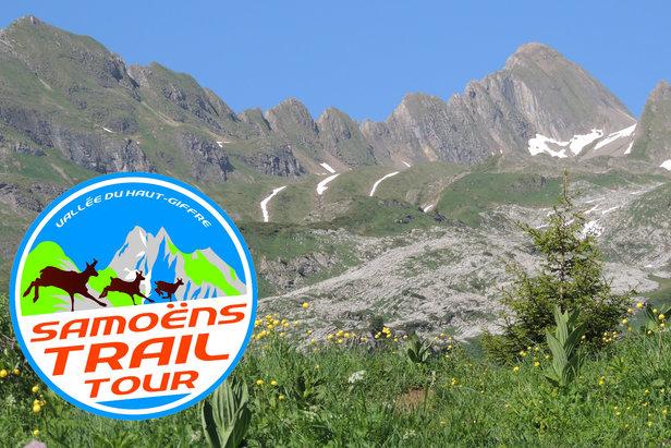 Le Samoëns Trail Tour est très apprécié pour les magnifiques décors qu'il traverse