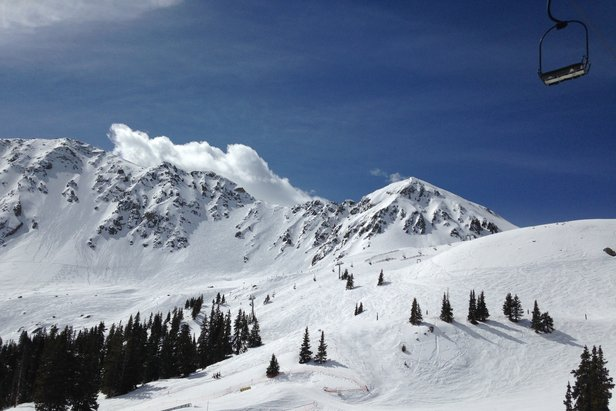 A-Basin got nearly 4 feet of fresh snow in May alone.  - © Arapahoe Basin Ski Area
