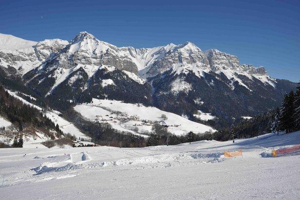 hiver Montmin-Col de la Forclaz