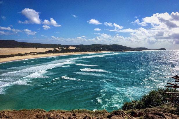 Indian Head - ein beliebter Aussichtspunkt der Insel Fraser Island