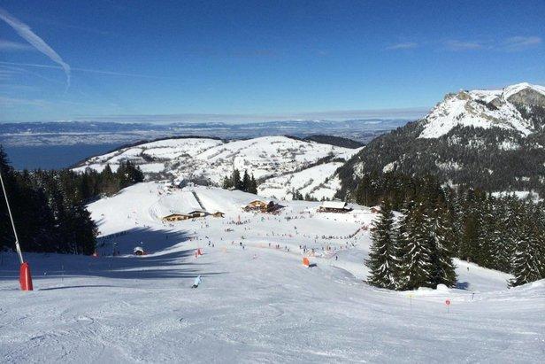 pistes de ski Bernex
