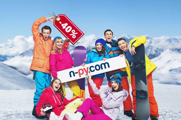 Jusqu'au 31 août, bénéficiez d'une remise de 40% sur l'achat de votre forfait saison dans l'une des stations de ski N'PY
