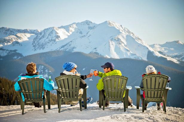 Ski fun in Aspen